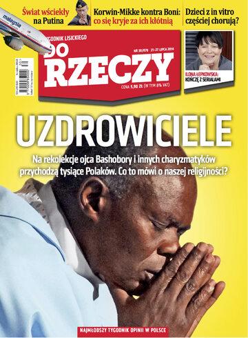 """Okładka tygodnika """"Do Rzeczy"""", wydanie nr 30/2014 (78)"""