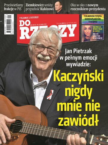 """Okładka tygodnika """"Do Rzeczy"""", wydanie nr 20/2017 (222)"""