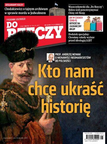 """Okładka tygodnika """"Do Rzeczy"""", wydanie nr 25/2021 (430)"""
