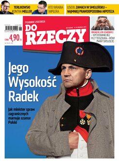 Tygodnik Do Rzeczy 46/2013 - Okładka