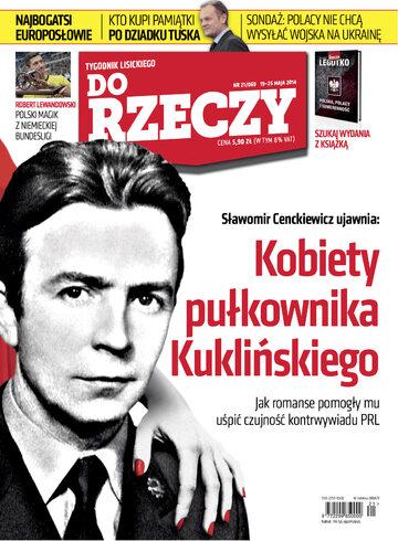"""Okładka tygodnika """"Do Rzeczy"""", wydanie nr 21/2014 (69)"""