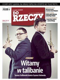 Tygodnik Do Rzeczy 13-14/2013 - Okładka