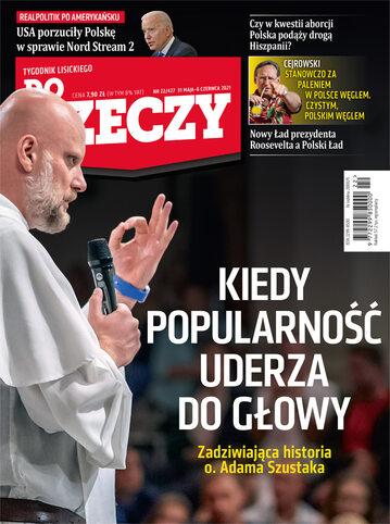"""Okładka tygodnika """"Do Rzeczy"""", wydanie nr 22/2021 (427)"""