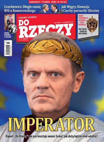 """Okładka tygodnika """"Do Rzeczy"""", wydanie nr 37/2014 (85)"""