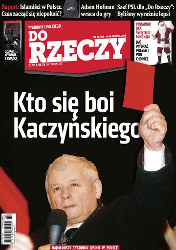 """Okładka tygodnika """"Do Rzeczy"""", wydanie nr 50/2014 (98)"""