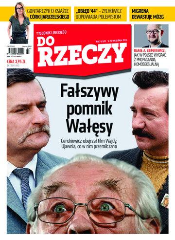 """Okładka tygodnika """"Do Rzeczy"""", wydanie nr 33/2013 (33)"""