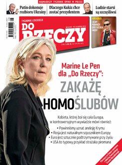 Tygodnik Do Rzeczy 8/2015 - Okładka