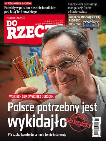 """Okładka tygodnika """"Do Rzeczy"""", wydanie nr 44/2017 (246)"""