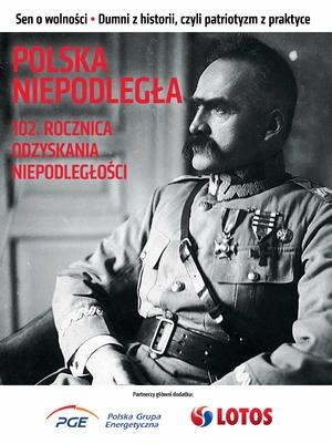 Polska niepodległa. 102. rocznica odzyskania niepodległości