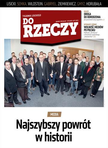 """Okładka tygodnika """"Do Rzeczy"""", wydanie nr 0/2013 (0)"""