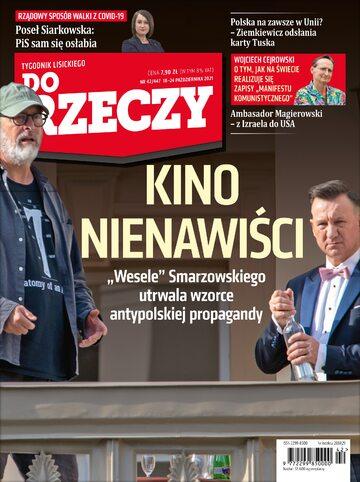 """Okładka tygodnika """"Do Rzeczy"""", wydanie nr 42/2021 (447)"""