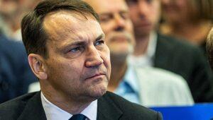 Sikorski: Konsekwencje dla Polski mogą być katastrofalne