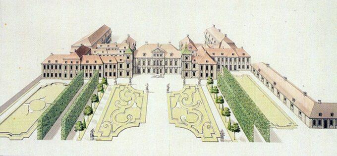 Pałac Saski, XVIII w.