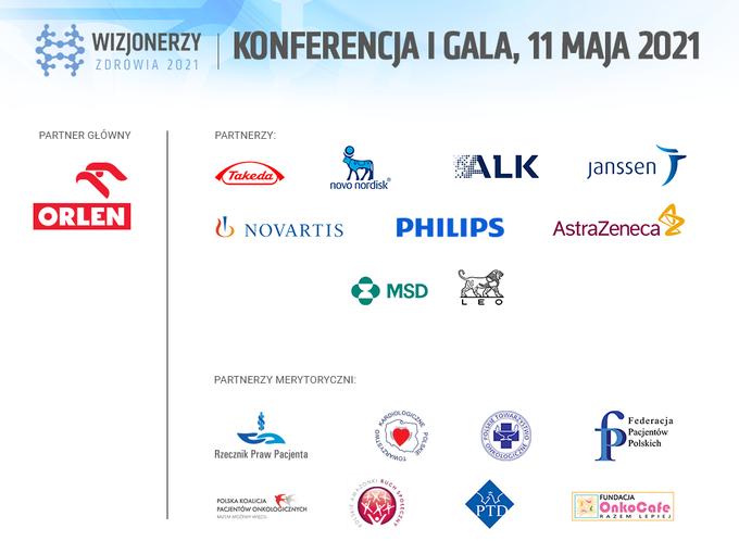 Wizjonerzy Zdrowia 2021 -Partnerzy