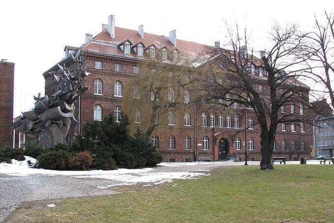 Budynek Poczty Polskiej wGdańsku