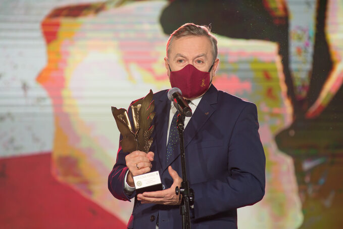 Wicepremier, minister kultury idziedzictwa narodowego isportu prof. Piotr Gliński