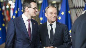 Morawiecki o Tusku: Igra z ogniem