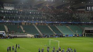 Legia z Realem przy pustych trybunach na Łazienkowskiej