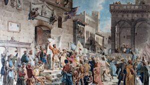 Bunt Ciompich. Pierwsza rewolucja socjalistyczna miała miejsce w…...
