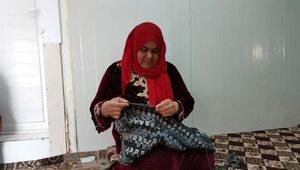 Syryjka tworzy wełniane dzieła sztuki. Zarabia 40 zł miesięcznie
