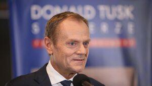 Tusk zaprasza na program TVN24. Drwiący komentarz Wąsika