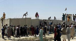 Afganistan pada, fala idzie