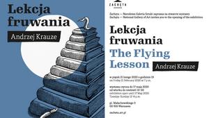 """""""Lekcja fruwania"""". Rysunki Andrzeja Krauzego w Zachęcie"""