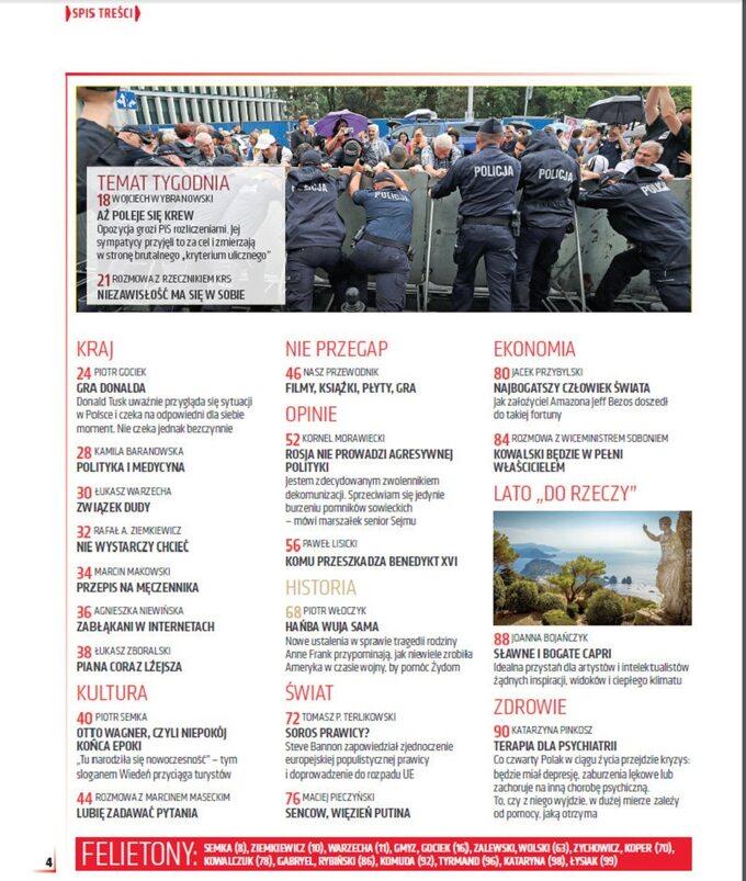 """""""Do Rzeczy"""" nr 31: Wsadzimy PiS zakratki! Totalna opozycja szykuje plan rozprawy zpolitykami, sędziami, dziennikarzami"""