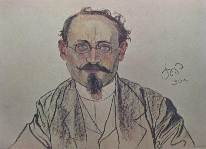 Wilhelm Feldman, rys. Stanisław Wyspiański
