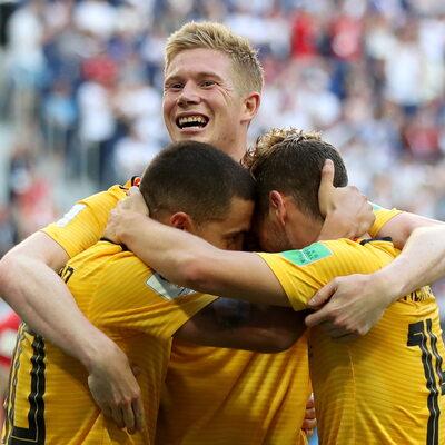 Belgia na podium mundialu, Anglicy byli bez szans