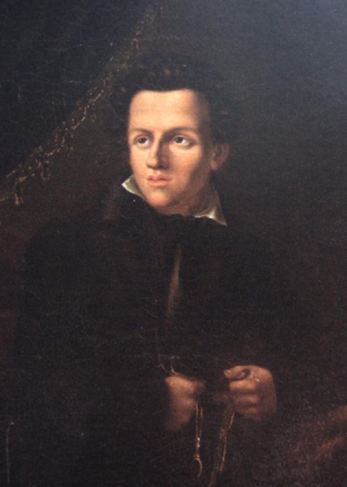 Juliusz Słowacki wmłodości. Obraz Tytusa Byczkowskiego