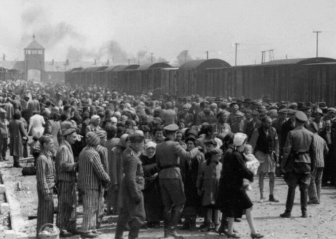 Węgierscy Żydzi wAuschwitz-Birkenau