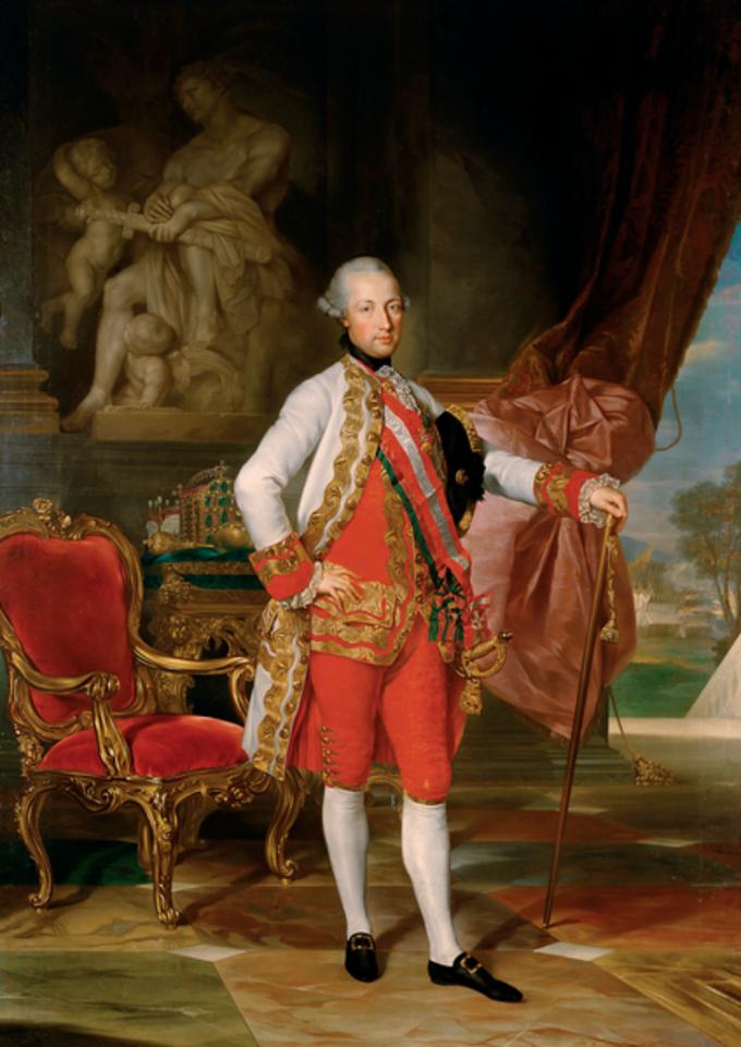 Anton von Maron , Portret Józefa IIHabsburga