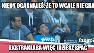 Dziwne zachowanie Maradony, wygrana Argentyny. Najlepsze memy po meczu