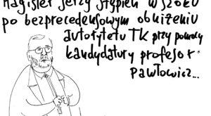 Magister Stępień, profesor Pawłowicz