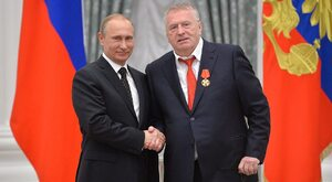 Szef ukraińskiej dyplomacji potępia naszych wrogów, a Żyrinowski znowu...
