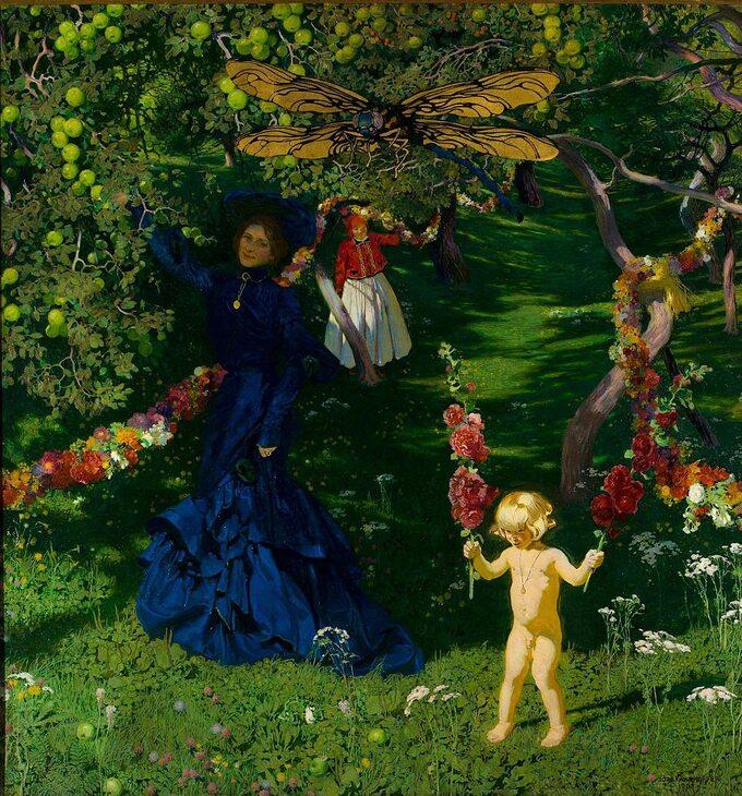Józef Mehoffer, Dziwny ogród