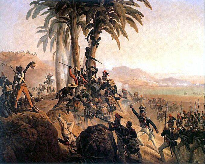 Bitwa polskich legionistow naSanto Domingo