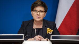Beata Szydło odniosła się do słów Macrona na temat Polski