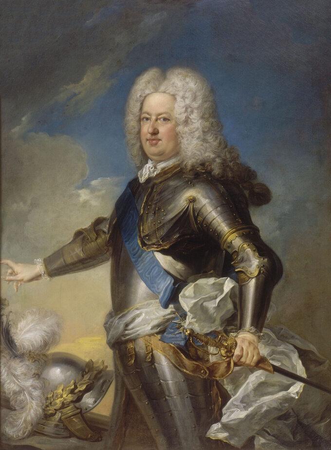 Portret Stanisława Leszczyńskiego. Autor: Jean-Baptiste van Loo