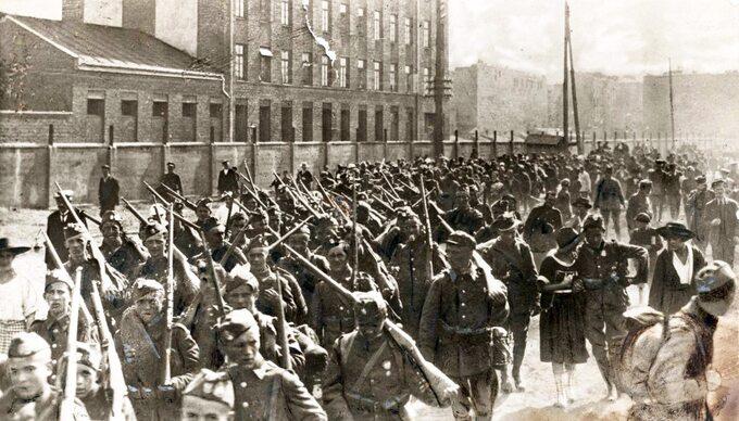 Bitwa Warszawska, polska piechota