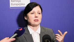 Věra Jourová pisze o praworządności. Padły mocne słowa