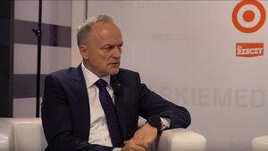 Prezes zarządu PKP Cargo Czesław Warsewicz na Forum Ekonomicznym w Krynicy