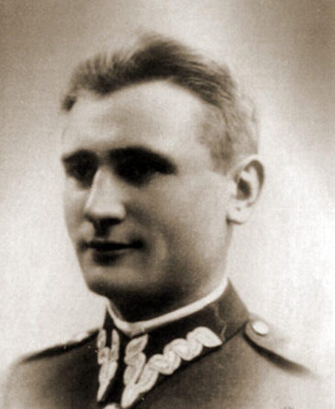 Kpt Władysław Raginis, dowódca obrony Wizny