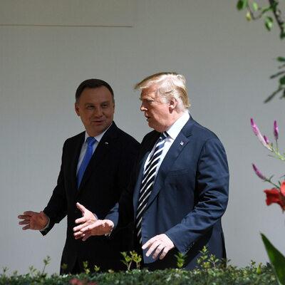 Andrzej Duda w spocie wyborczym Donalda Trumpa