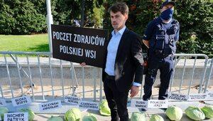 """Rolnicy protestują w Warszawie. """"Sytuacja nie pozwala nam na bierne..."""