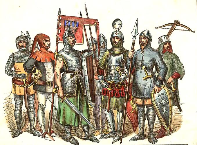 Rycerstwo polskie wlatach 1228-1333 według Jana Matejki