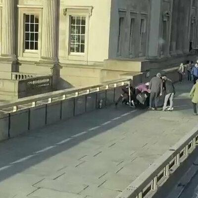 Atak w Londynie. Polak zaatakował terrorystę kłem narwala