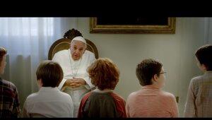Pierwszy film z udziałem papieża Franciszka