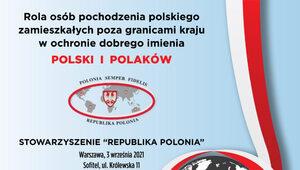 """Konferencja """"Rola osób pochodzenia polskiego zamieszkałych poza..."""